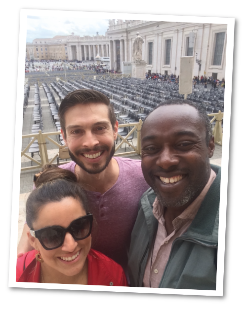 Visiting Rome with The Guiding Family 01