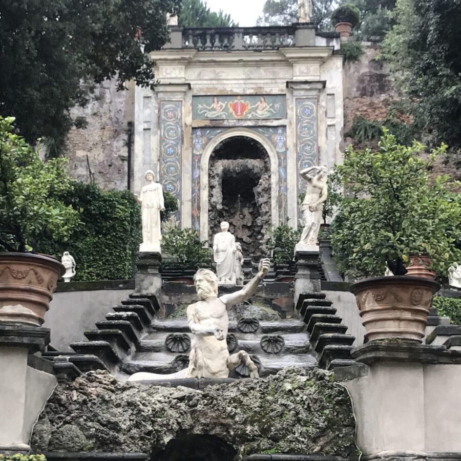 Colonna Gallery's garden