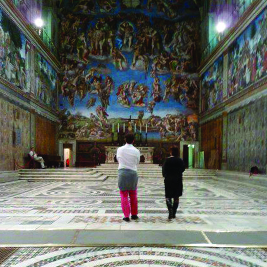 Vatican Museums, Sistine Chapel private view