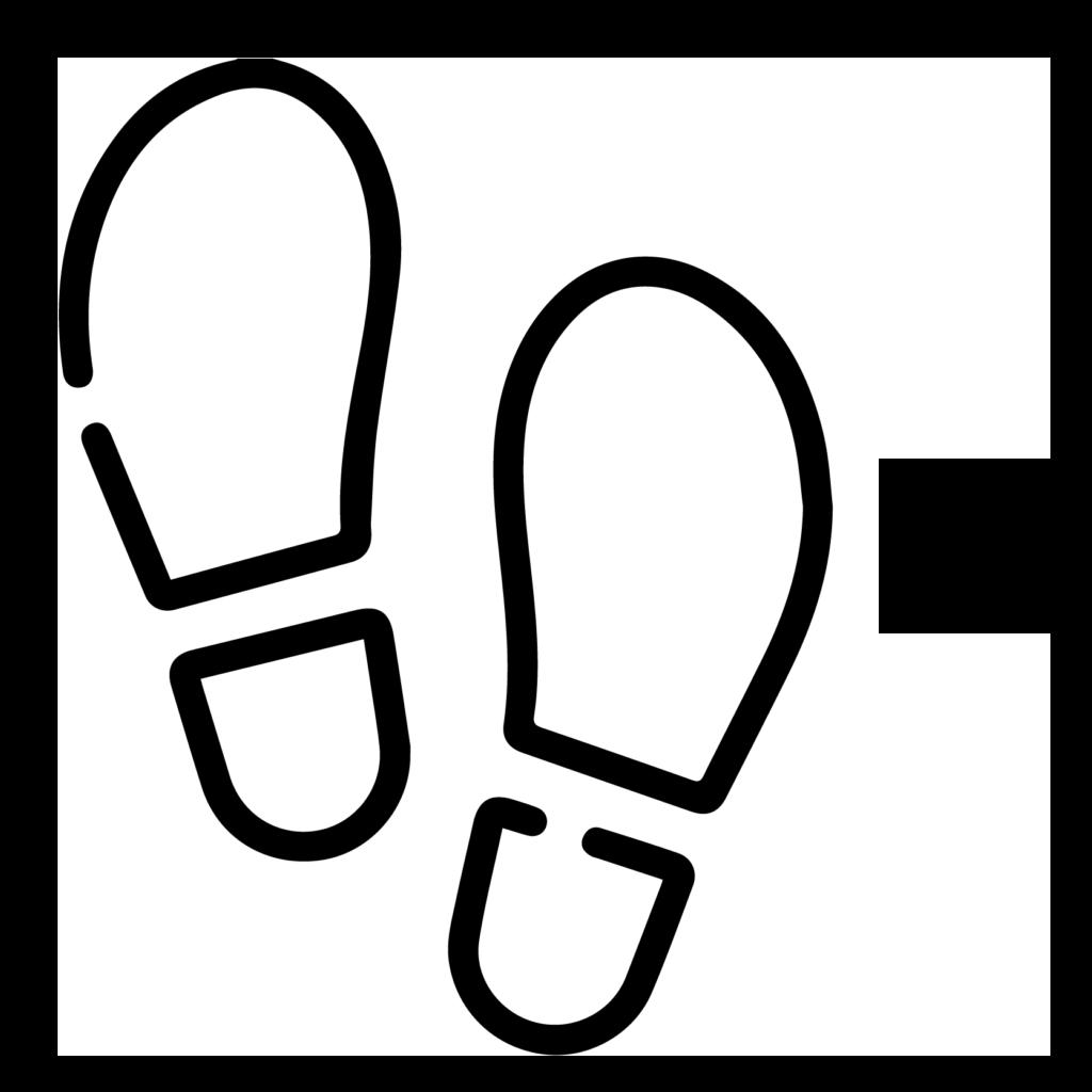 theguidingfalimy walking normal icon