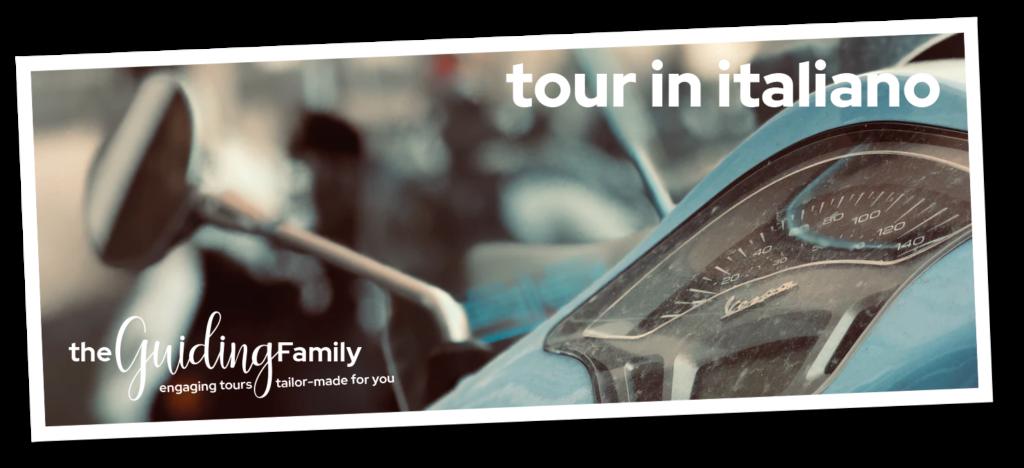 the guiding family tour in italiano foto di Maria Dolores Vazquez UnSplash